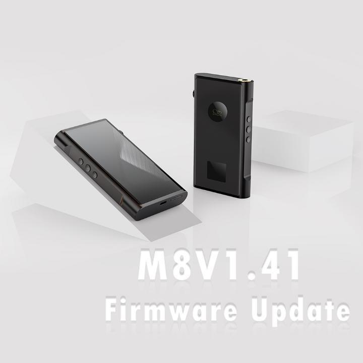 M8 Firmware Update