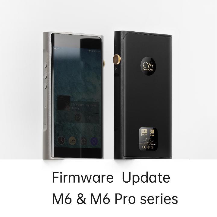 Firmware update M6, M6 21, M6Pro, M6Pro 21